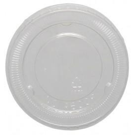 #COF-0200PET-D78C Capace din polietilena, transparente, plate, fara gaura, Ø 78 mm