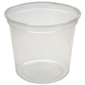 #CTR-PLS-1300-D117 Boluri din PET, delli container, Ø 117 mm, 700cc, transparente