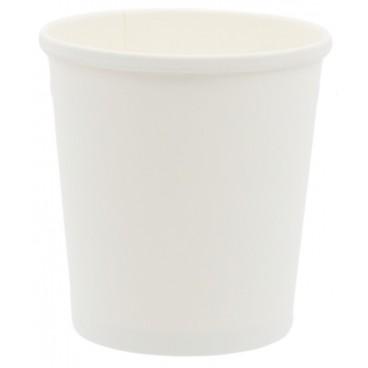 1300CS098 Boluri din carton, Ø 98 mm, 16oz, albe