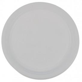 #CTR-PLS-0900 Farfurii din PP, albe, 1 compartiment, Ø 220