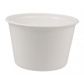 #CTR-PLS-1300-D114 Boluri din polipropilena, albe, Ø 114 mm, 460 cc