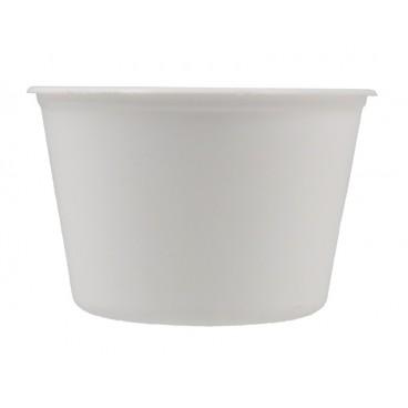 #CTR-ECN-1300-D114 Boluri din polipropilena, albe, Ø 114 mm, 460 cc
