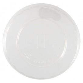 0400 Capace transparente, PLA, plate, orificiu pai, Ø 100 mm