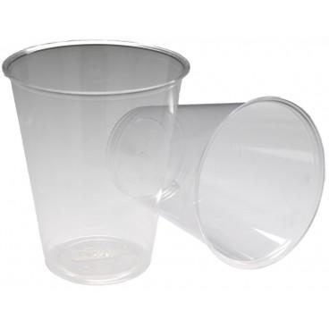 0200 Pahare PLA, transparente, Ø 100 mm, 630 cc, S 0.5 L