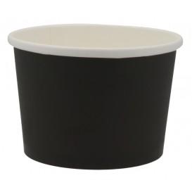 #CTR-CRTNGR-1300 Boluri din carton, negre, Ø 114 mm, 16oz