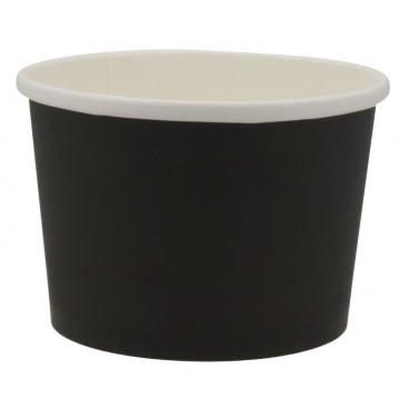 1300CS114 Boluri din carton, Ø 114 mm, 16oz, negre