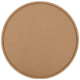 #CTR-CRTKN-1300-D184-C Capace din carton, kraft natur, 1 strat, D184-FA, plate