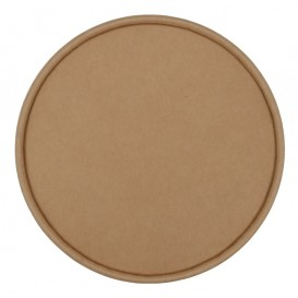 #CTR-CRTKN-1300-D150-C Capace din carton, kraft natur, 1 strat, D150-FA, plate