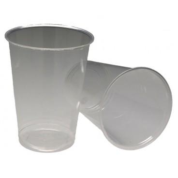 0200 Pahare PLA, transparente, Ø 86 mm, 350 cc, S 0.3 L