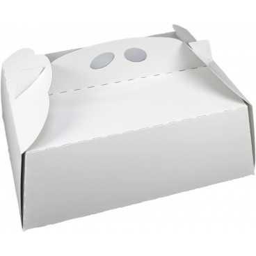 #GLT-3600 Cutii tort, albe, din carton gros, 350 x 250 mm