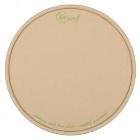#CTR-CPS-1300-D150-C Capace biodegradabile din bambus + PLA, 1 strat, D150-FA, plate