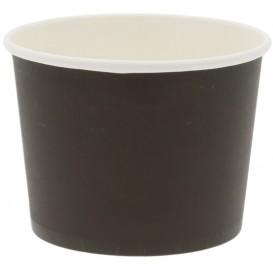 Boluri din carton, Ø 110 mm, 16oz, negre