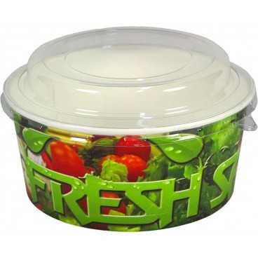 1300-04CS Boluri din carton, salad, Ø 146 mm, 750cc