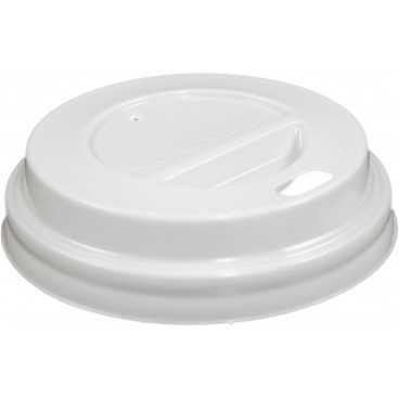 #COF-0200CRT-Z01 Capace din PS, Ø 62 mm, cu orificiu pentru bauturi calde, albe