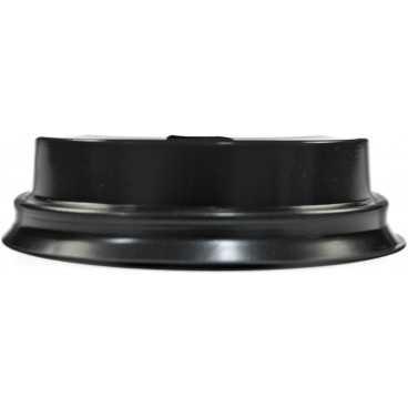 Capace din PS, Ø 70 mm, cu orificiu pentru bauturi calde, negre