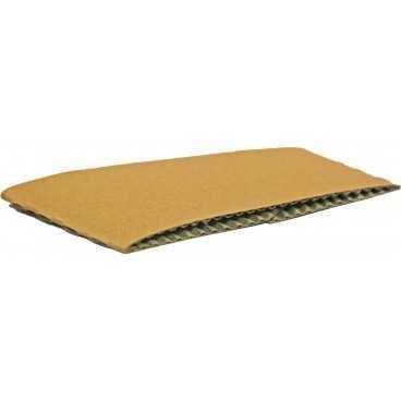 Mansoane din carton, pentru pahare Ø 90 mm, kraft natur