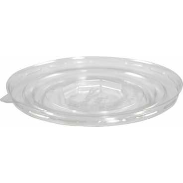 Capace din PET, Ø 150 mm, dome, fara gaura, transparente