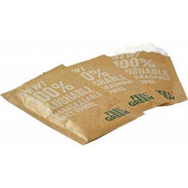 Servetele umede, ambalate individual, 100 x 68 mm, biodegradabil