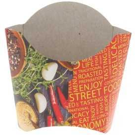 1600 Cutii din carton pentru cartofi, 250cc, street food