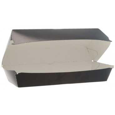 Caserole din carton pentru panini, 195 x 75 x 70 mm, negre