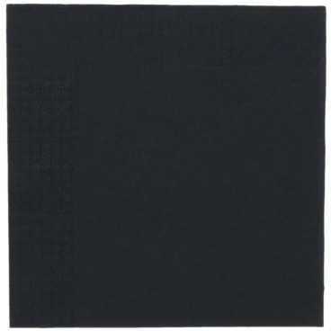 Servetele point to point, pliate in 4, 330 x 330 mm, 2 straturi, negre