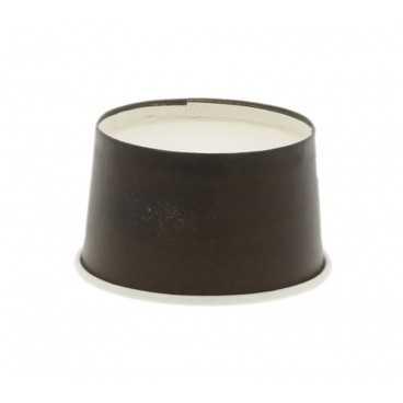 1200CS Cupe din carton, negre, Ø 62 mm,   60cc