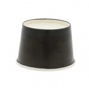 Cupe din carton, Ø 74 mm, 120cc, negre