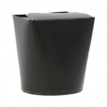Cutii din carton pentru noodles, 500cc, negre