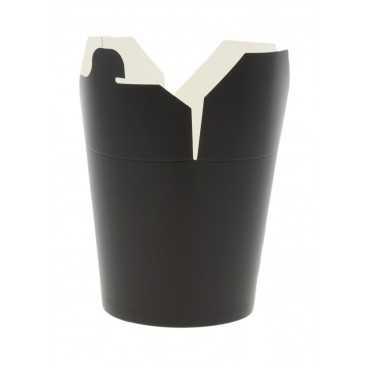 Cutii din carton pentru noodles, 750cc, negre