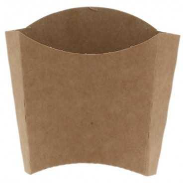 1600 Cutii din carton pentru cartofi, 250cc, kraft natur