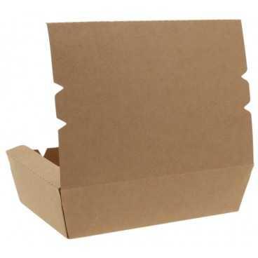 1400CA Meniuri din carton cu clapeta, 1000cc, kraft natur
