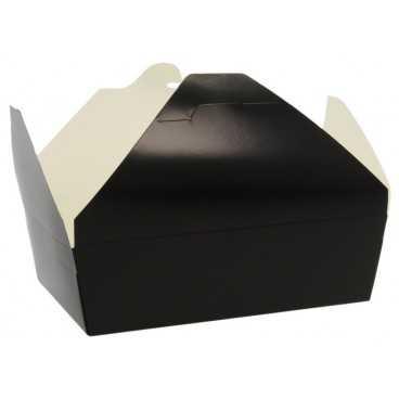 1400CA Meniuri din carton cu 4 clapete, 1300cc, negre