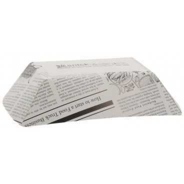 0950 Barcute din carton, 300cc, 160 x 120 x 40 mm, ziar
