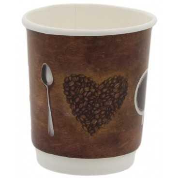 0200-CRTP2 PAH CART DBWALL COFFEE 8OZ D80 /20 20/BAX