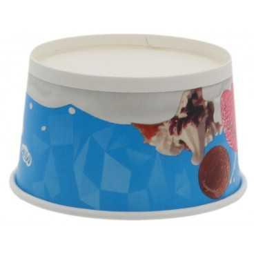 1200CS Cupe din carton, milk ice cream, Ø ... Mm, 8oz