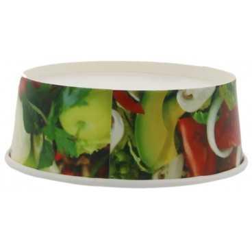 #CTR-CRT-1300 Boluri din carton, salad, Ø 142 mm, 550cc