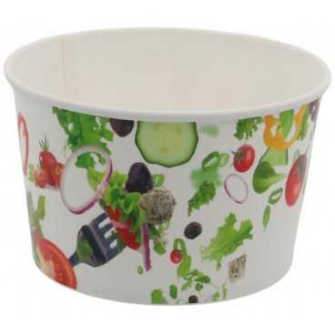 1300-04CS Boluri din carton, salad, Ø 154 mm, 1250cc