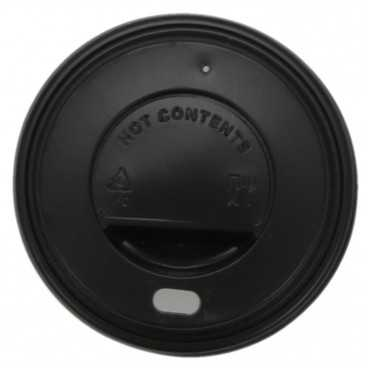 0200-CRTZ Capace pentru bauturi calde din PS Ø80mm negre
