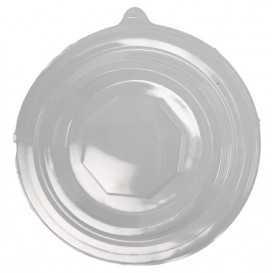 #CTR-CRTKN-1300-D146-C Capace din PET, transparente, dome, fara gaura, Ø 146 mm