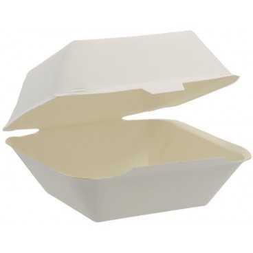 1400CA Meniuri din carton cu capac atasat, 90 x 85 x 72 mm, albe