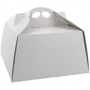 #GLT-3600 Cutii tort, albe, din carton gros, 270 x 270 mm