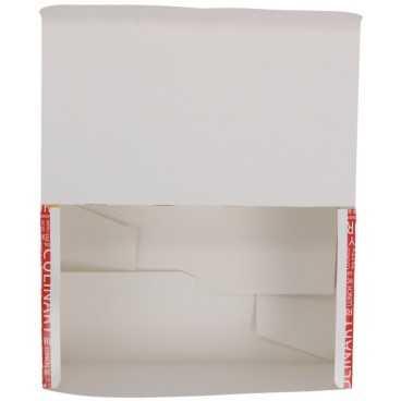 Meniuri din carton cu clapeta, 175 x 105 x 70 mm, street food