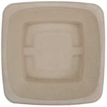 B01 CS180X180 Caserole BIO, natur, patrate, capac separat, 180 x 180 x 60 mm, 1000 cc