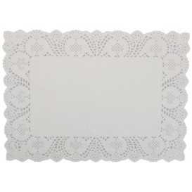 3900 Dantele albe pentru cofetarii si gelaterii, 250 x 370 mm