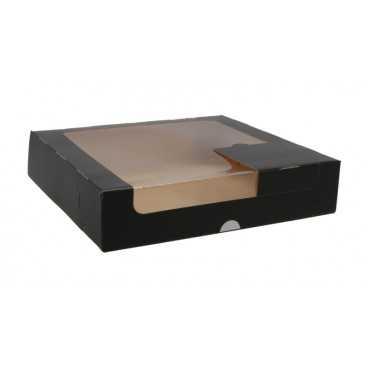 A04 028 CUTIE CART + F NEGRU 230X230X50 50/BX