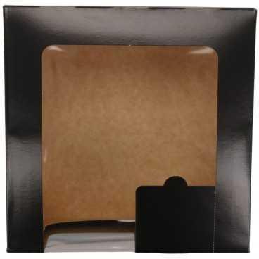 A04 026 CUTIE CART + F NEGRU 200X200X100 50/BX