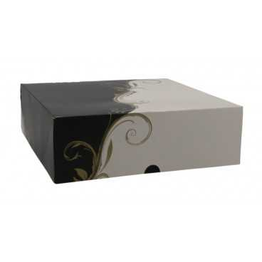 CUTIE CART CA NGR&ALB 230X230X75 /50 4/BX