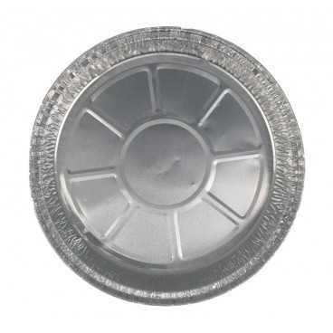 #CTR-PAL-1400 Caserole din aluminiu, argintii, rotunde, Ø 210 mm
