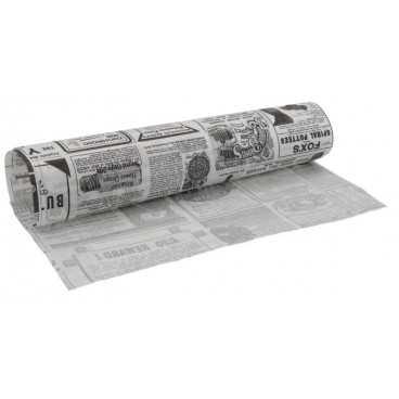 4500 Hartie pentru ambalat rezistenta la grasimi, 340 x 280 mm, ziar