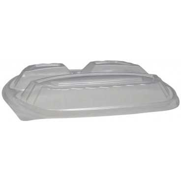 CAPAC CAS PP NGR OVAL 3COMP 240X205 MM /50 4/BX